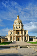 Invalides Framed Prints - Les Invalides Framed Print by Olivier Le Queinec