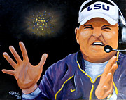 Terry J Marks Sr - Les Miles Clapping