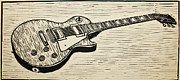 Lino Originals - Les Paul by William Cauthern