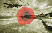 Normandy Landings Posters - Lest we forget  Poster by Rob Hawkins