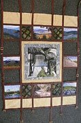 Picture Tapestries - Textiles Originals - Let Freedom Ring by Tracie L Hawkins