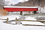 Litchfield County Photo Prints - Let It Snow-Let It Snow Print by Thomas Schoeller