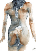 Silver Nude Paintings - Let me go by John Silver