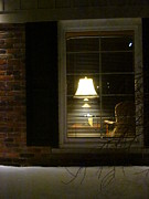 Photography Of Lamps Photos - Let Me Go To The Window by Guy Ricketts