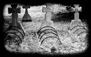 Grate Photos - Let the Dead Sleep by Cindy Nunn