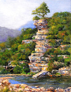 Buffalo River Paintings - Let The Mountains Sing by Willis Miller