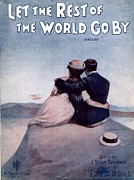 Tin Hat Framed Prints - Let the Rest of the World Go By Framed Print by Mel Thompson