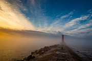 Breakwater Prints - Let There Be Light Print by Daniel Chen