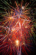 Pyrotechnic Photo Framed Prints - Let us celebrate Framed Print by Garry Gay
