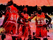 Mvp Mixed Media Prints - Lets Do This Print by Brian Reaves
