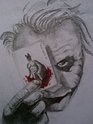 The Dark Knight Drawings - Lets play a game by Ayushi Puri