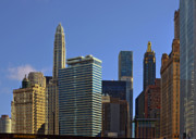 Urban Scenes Photos - Lets talk Chicago by Christine Till