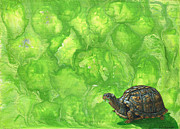 Pet Paintings - Lettuce Fetish by Cara Bevan
