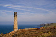 Cornwall Prints - Levant to Pendeen View Print by Chris Thaxter