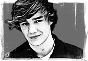 The Digartist Framed Prints - Liam Payne Framed Print by The DigArtisT