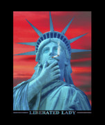 Liberated Lady Print by Mike McGlothlen