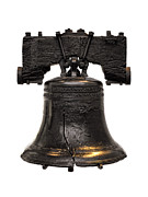 Independence Photo Prints - Liberty Bell Print by Olivier Le Queinec