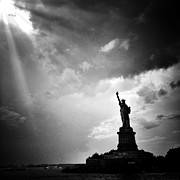 Nyc Digital Art Posters - Liberty Enlightening the World Poster by Natasha Marco