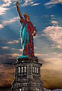 Citizens Prints - Liberty For All Print by Pamela Briggs-Luther