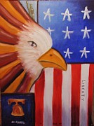 Etc. Paintings - Liberty by Gene Gregory