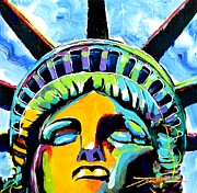 Independence Art Mixed Media - Liberty by Jonathan Tyson