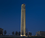 Liberty Memorial At Dusk Print by Tim Mulina