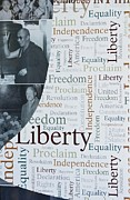 American Greetings Posters - Liberty Poster by Sonali Gangane
