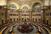 Library Of Congress Print by Mountain Dreams