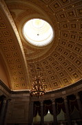Basement Art Prints - Library of Congress - Washington DC - 01133 Print by DC Photographer