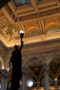 Ceiling Photos - Library of Congress - Washington DC - 01134 by DC Photographer