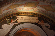 Basement Art Prints - Library of Congress - Washington DC - 01135 Print by DC Photographer