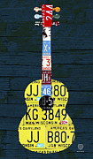 Design Turnpike - License Plate Guitar...