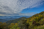 Nc Prints - Licklog Ridge Overlook Print by John Haldane