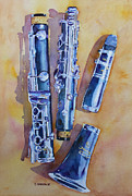 Big Band Painting Originals - Licorice Pieces by Jenny Armitage