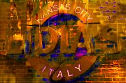 Italian Restaurant Digital Art Posters - Lidias Kansas City Poster by Liane Wright