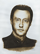 Enterprise Painting Prints - Lieutenant Commander Data Star Trek TNG Print by Giulia Riva