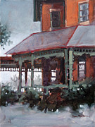 Raleigh Originals - Lieutenant Governors Porch by Dan Nelson