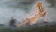 Animals Painting Framed Prints - Life Framed Print by Gilles Delage