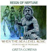 Neptune Drawings Prints - Life in the age of rising seas Print by Greta Corens