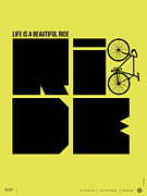 Life Is A Ride Poster Print by Irina  March