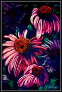 Daisy Pastels Metal Prints - Life Is Too Short       Pastel Metal Print by Antonia Citrino