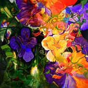 Life Of Flowers Print by Georg Douglas