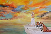 Pi Paintings - Life of Pi by Mike Paget