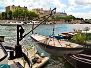 Life On The Seine Print by Lauren Hunter