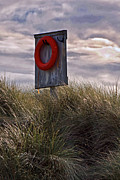 Lifebelt Framed Prints - Life Preserver Framed Print by David Pringle