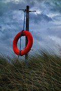 Lifebelt Framed Prints - Life Preserver II Framed Print by David Pringle