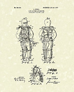 Saving Drawings - Life Saving Device 1907 Patent Art by Prior Art Design