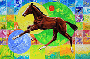 Colt Paintings - Life Springs Eternal by John Lautermilch