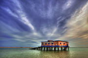 Nigel Hamer Prints - Lifeboat House Print by Nigel Hamer