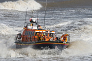 Paul Lilley Framed Prints - Lifeboat -Mersey Class ALB Framed Print by Paul Lilley